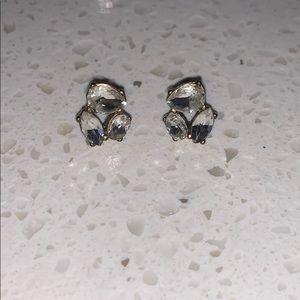 J Crew cluster earrings